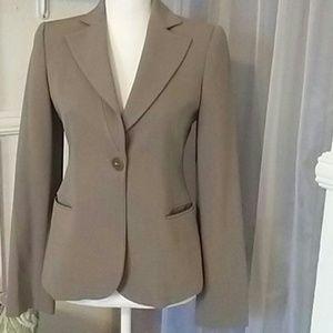 Emporio Armani one button  blazer size 6